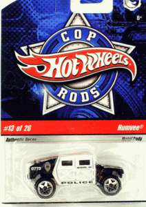 Hot Wheels police Car COP RODS #13 of 26