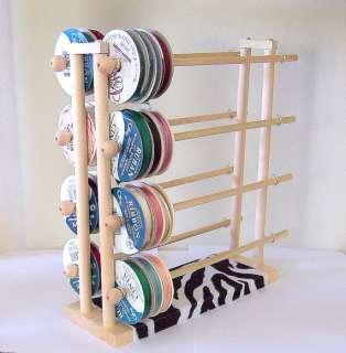 Super Ribbon Holder Storage Rack Organizer Holds 150 Spools