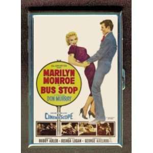 MARILYN MONROE BUS STOP PIN UP ID Holder, Cigarette Case