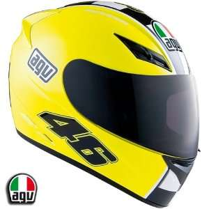 AGV K3 Rossi Celebr8 Yellow Motorcycle Helmet Large AGV SPA   ITALY