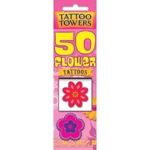 Flower Tattoos (Tattoo Towers) (9781842296998): Books