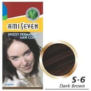 Ami Seven Speedy Permanen Hair Color, 2.11oz/60g, 1 Applicaion, Dark