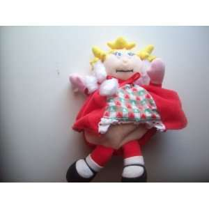 Cindy Lou Xmas Ormanent Reversable Plush Figure How the