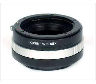Nikon G mount lens   Sony Alpha Nex 5 Nex3 nex5 adapter