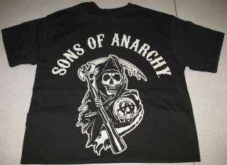 Sons of Anarchy, Reaper T Shirt, Black, sizes M 3XL, 2816
