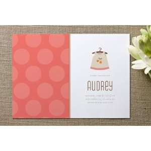Cheery Frock Baby Shower Invitations: Health & Personal