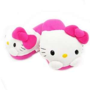 Hello Kitty Plushy Kid Slippers (feet size measure by 7
