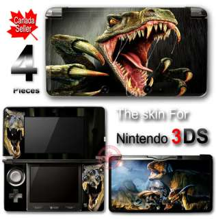 Dinosaur Cool Arts SKIN VINYL STICKER DECAL COVER for Nintendo 3DS