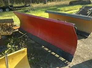 SKIDSTEER SKID STEER SNOW PLOW PUSHER POWER ANGLE 9