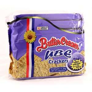 Croley Foods Buer Cream Ube Crackers Grocery & Gourme Food