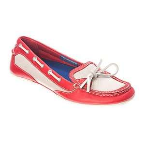 Ladies Rockport SB 2 Sailor Red/White Mesh