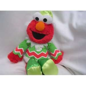 Elmo Christmas Elf Plush Toy 15 Electronic Talking