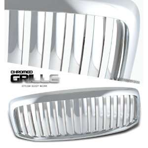 DODGE RAM PICKUP TRUCK VERTICAL FRONT CHROME GRILLE GRILL Automotive