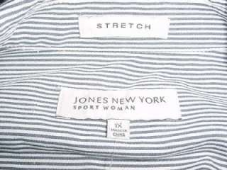 NWT WOMENS JONES NEW YORK SPORT JACKET COAT SIZE 1X