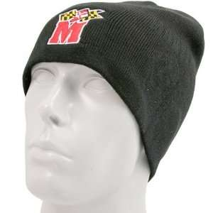 Nike Maryland Terrapins Black In the Paint Knit Beanie