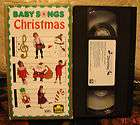 Baby Songs CHRISTMAS Vhs HAP PALMER RARE HTF Sing Along Jingle Bell
