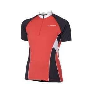 Cannondale Womens Climb Cycling Jersey (Tomato, X Large