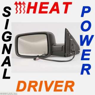 Dodge Driver Side Power Black Signal Lamp Heat Mirror