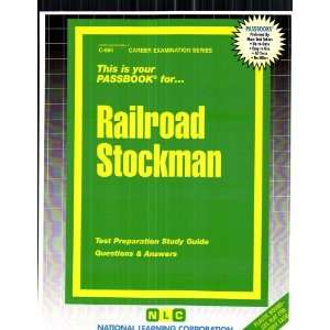 Railroad Stockman (9780837306643) Jack Rudman Books