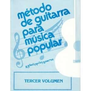 Para Musica Popular Tercer Volumen Rafael (Pilo) Suarez Books