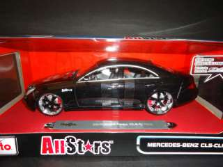 Maisto Mercedes Benz CLS All Stars Black 1/18