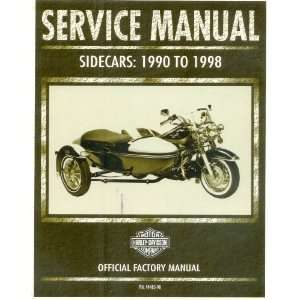 Harley Davidson Service Manual Sidecars: 1990 to 1998