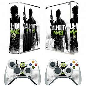 COD MW3 201 vinyl decal Skin Sticker for Xbox360 slim and 2 controller