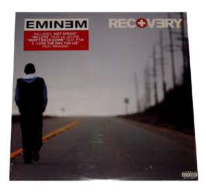 EMINEM   RECOVERY   DOUBLE 12 VINYL LP   SEALED & MINT