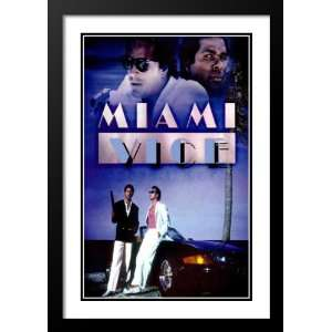Miami Vice Framed and Double Matted 20x26 Movie Poster