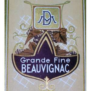Regal! Grande Fine Beauvignac Wine Label, 1930s: Everything Else