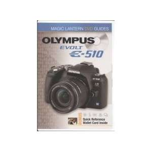 Evolt E 510 Magic Lantern DVD Guides   TUTORIAL DVD for Olympus E510