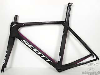 2012 Scott Foil Contessa 56cm Carbon Fiber Road Bike Frame and Fork
