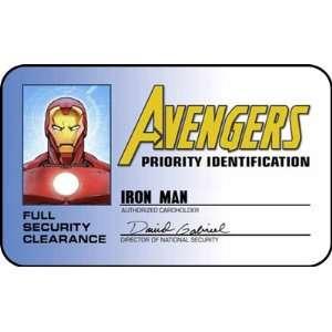 Avengers Iron Man ID Card