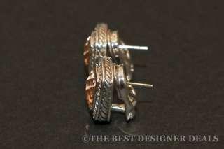 David Yurman 11MM Morganite Albion Diamond Earrings $2,300