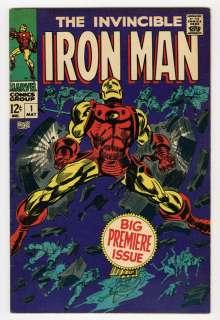 IRON MAN #1 1968 *HIGH GRADE* VF  to VF RANGE      CLASSIC