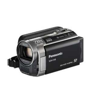 Panasonic SDR H100 80GB Camcorder Black  Light Use 885170029774