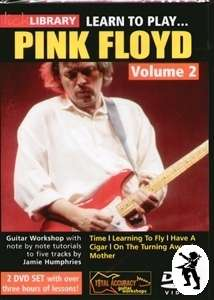 Learn to Play Pink Floyd Vol 2 Lick Library Guitar DVDs
