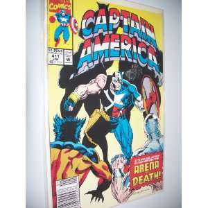 MARVEL COMICS   CAPITAIN AMERICA