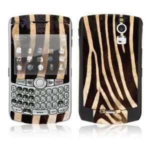 BlackBerry Curve 8330 Decal Skin   Zebra Print Everything
