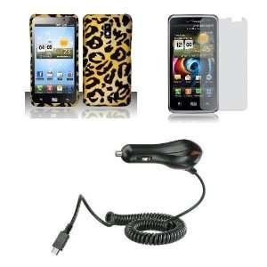 (Verizon) Premium Combo Pack   Cheetah Jungle Animal Print Design