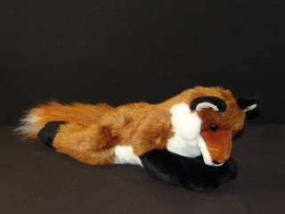 PLUSH LIFELIKE DOUGLAS ROXY RED FOX STUFFED ANIMAL SOFT LOVEY PELT FUR
