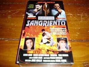 EN ESPANOL VHS Rapto Sangriento Erick Del Castillo