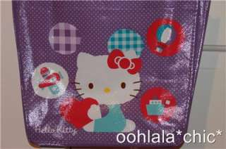 HELLO KITTY Sanrio Purple Reusable Mini Bag Shopping Birthday Party