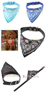Adjustable Cute Pet Dog Cat Scarf Collar Neckerchief #1