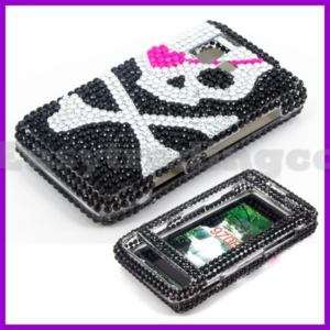 Crystal Bling Case Cover for LG VX9700 Dare Pirate