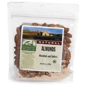 Farms Roasted Almonds No Salt    8 oz Health & Personal Care