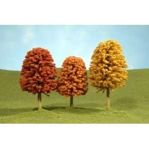 Bachmann 32051 Autumn Deciduous Trees (3): Toys & Games