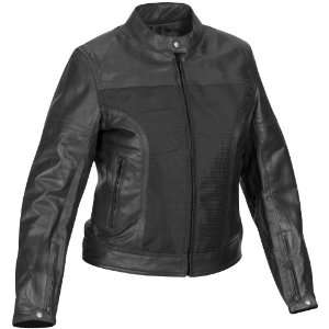 River Road Pecos Leather Mesh Jacket, Gender Womens, Apparel Material