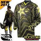 MSR New 2012 Rockstar Energy Drink Velocity Motocross Helmet Black