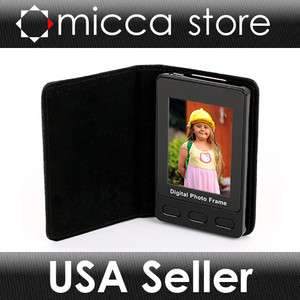 Micca 2.4 Portable Digital Photo Frame Wallet Album With Cover, Holds